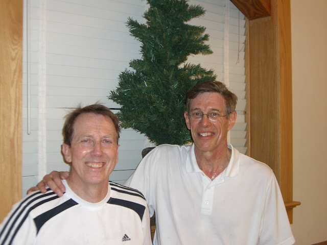 Jim Cronin and Bruce Merrifield