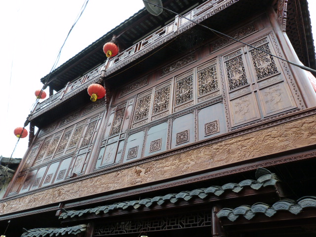 CHINE.SICHUAN.PING LE à 2 heures de Chengdu. Ravissant .Vallée des bambous - P1070486.JPG