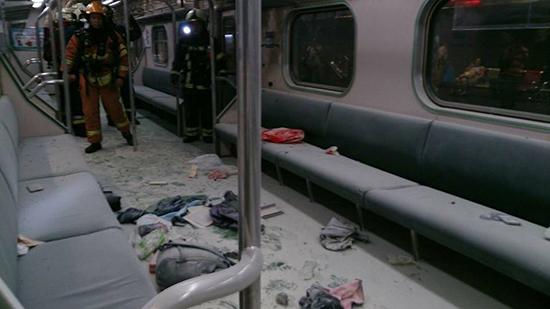 대만열차폭발사고