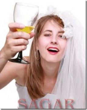 La ex novia borracha