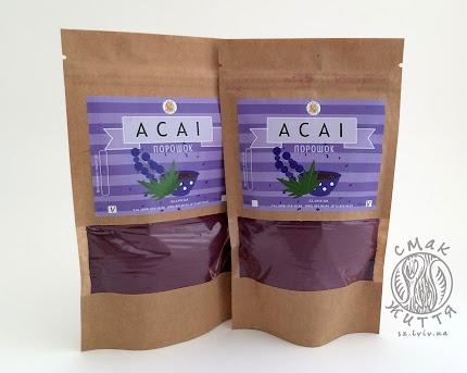 Асаі ягоди, екстракт 100% (аcаі, порошок)