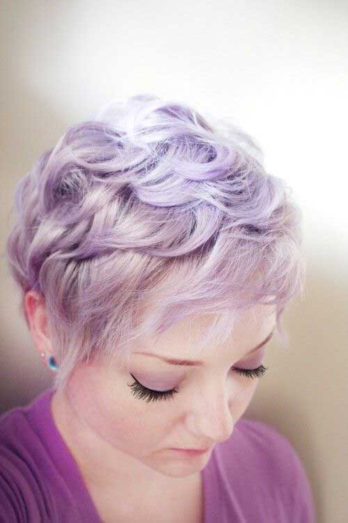 pixie cut with color trends 2017