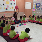 Circle Day Celebration by Nursery Section at Witty World Bangur Nagar (2018-2019)