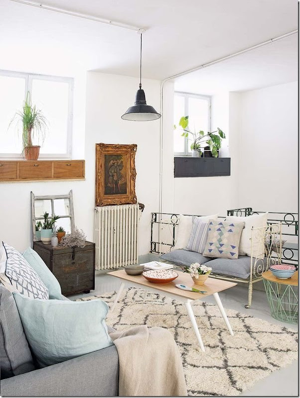 casa-loft-stile-boho-chic- industriale (7)