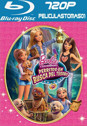 Barbie y sus hermanas: Perritos en busca del tesoro (2015) BDRip m720p