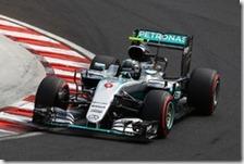 Nico Rosberg conquista la pole del gran premio d'Ungheria 2016