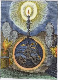 Emblem 2 From Andreas Friedrich Emblemes Nouvelles 1617, Emblems Related To Alchemy