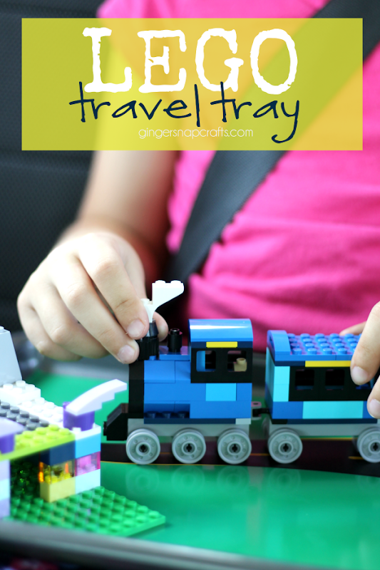 Lego Travel Tray at GingerSnapCrafts.com