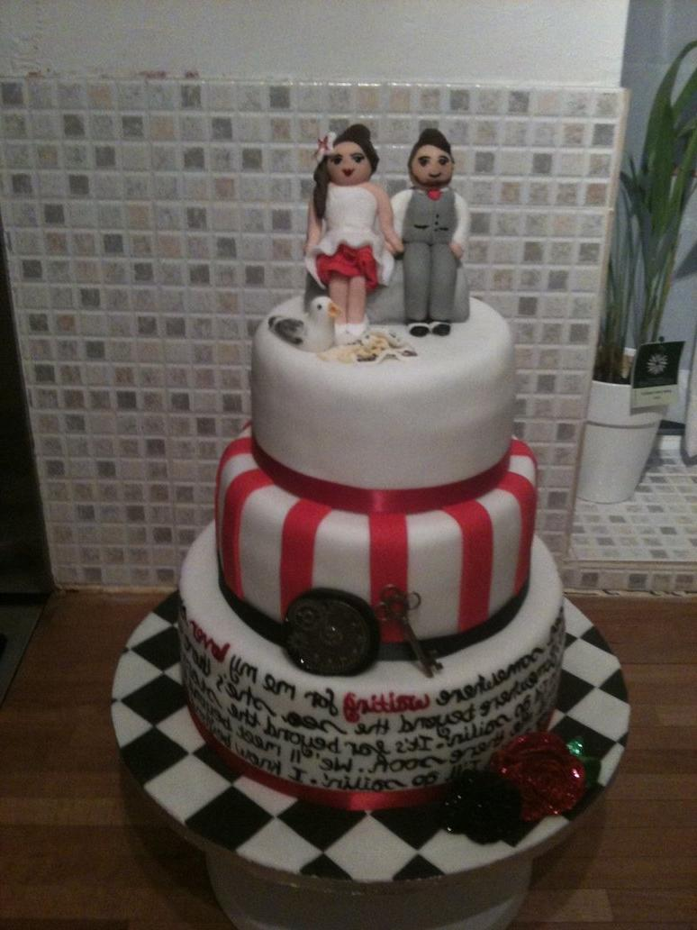 wedding cakes with writing on them janell s church alter centerpiece 26141