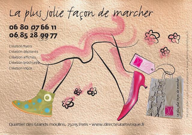 création flyer Chaussure Chausseur