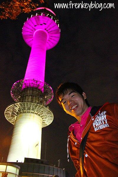 Seoul Tower di Malam Hari