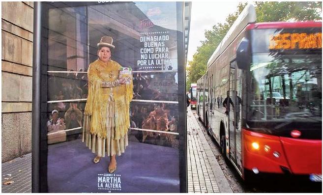 Cholitas en España