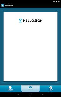 HelloSign - screenshot thumbnail