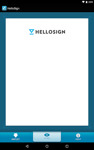 Screenshot 4 for HelloFax's Android app'