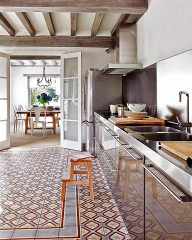 Lovik cocina moderna tienda de muebles de cocina desde for Pavimentos para cocinas