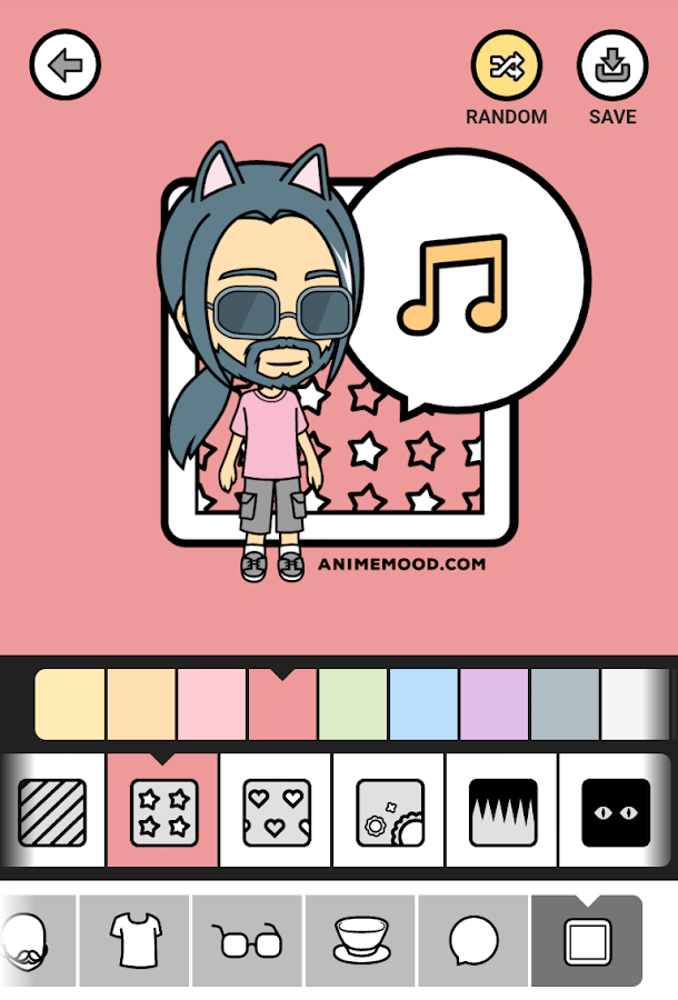 Anime Mood - avatar maker- screenshot