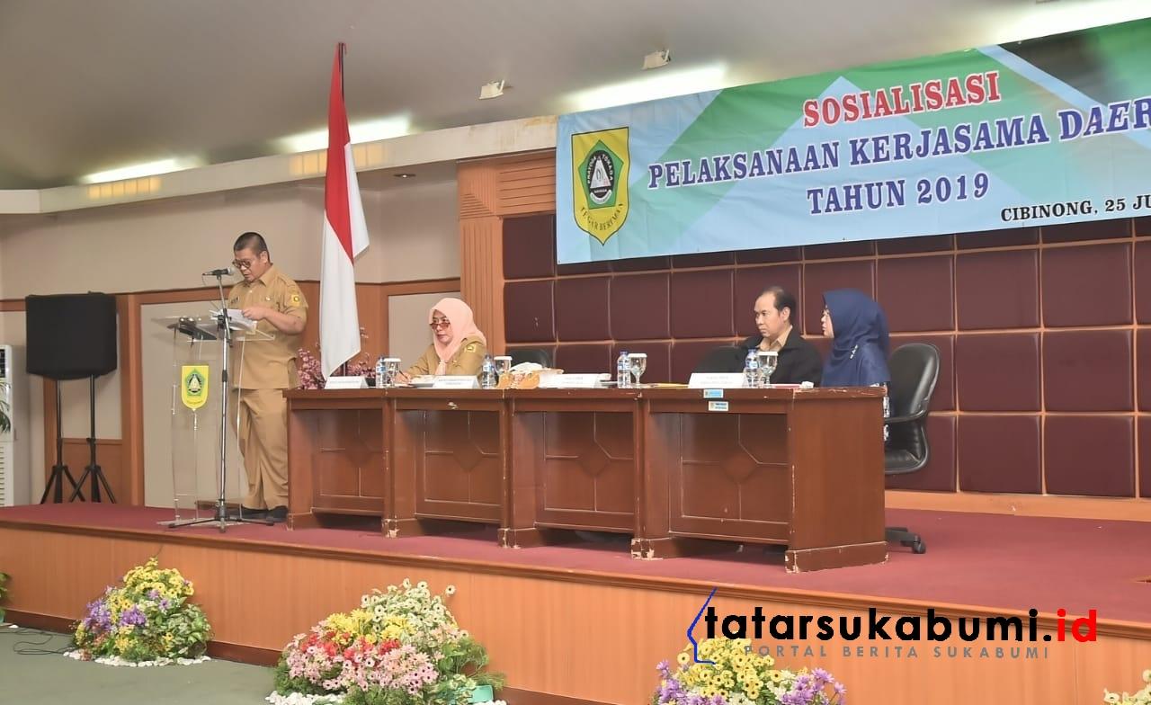 Pemkab Bogor Buka Pintu Kerjasama Antar Daerah Maupun Dengan Pihak Ketiga