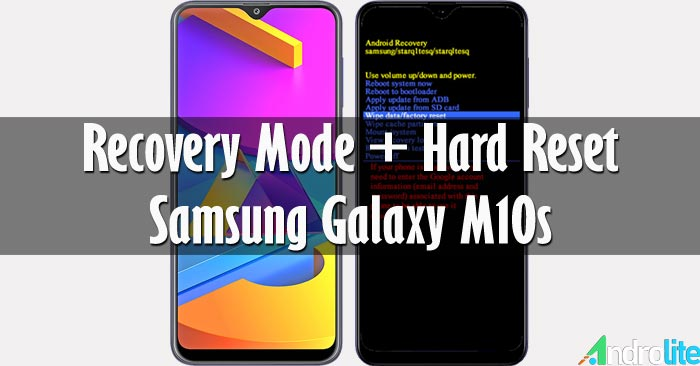 Recovery Mode + Hard Reset Samsung Galaxy M10s