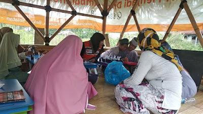 Santri Saung Qur'an Al-Awwal Belajar  Budidaya Tanaman Hidroponik