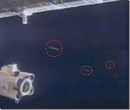 International Space Station UFO