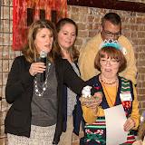 Lucy Bell receiving Ambassador Award, note her new tierra.