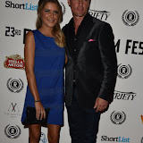 OIC - ENTSIMAGES.COM - Gemma Oaten and Matt Evers at the  My Hero Film Premiere at Raindance Film Festival London 25th September 2015 Photo Mobis Photos/OIC 0203 174 1069