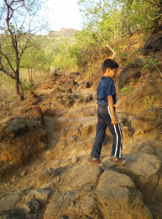 SINHGAD TREK with Aatish