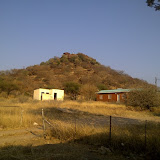 Phapane Hill seen from my office