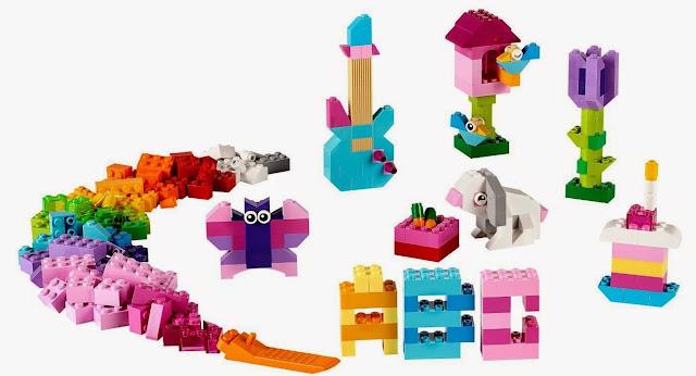 Xây dựng thế giới tự nhiên thật phong phú và sinh động với Lego 10694 Hộp sáng tạo bổ sung màu sáng