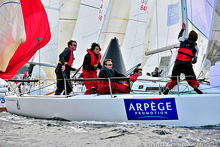 J/80 Arpege Promotion sailing team at GPEN