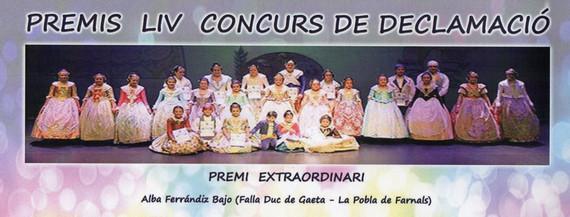 Alba Ferrándiz recogió su Premio Extraordinario de Declamación
