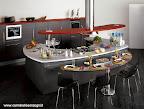Cucina Skyline Snaidero con isola snack