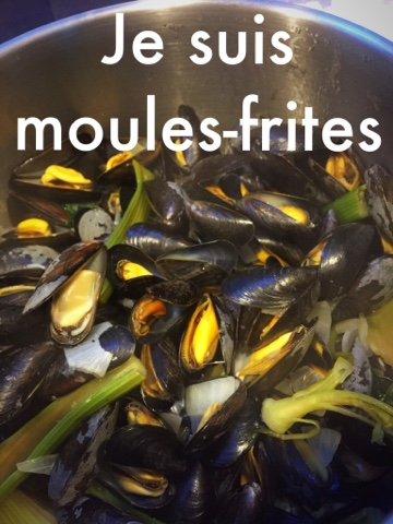 Je suis moules frites braderie Lille 2016