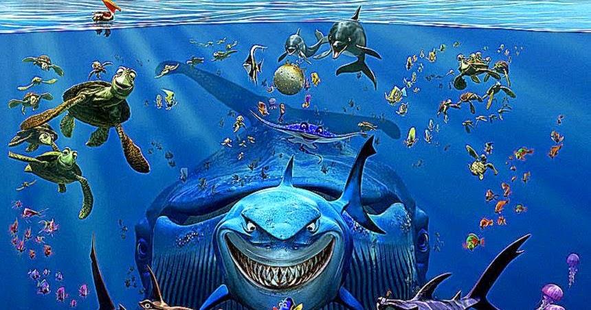 Finding Nemo D Animasi Hd Wallpaper: Finding Nemo 3D Cartoons Wallpapers Hd
