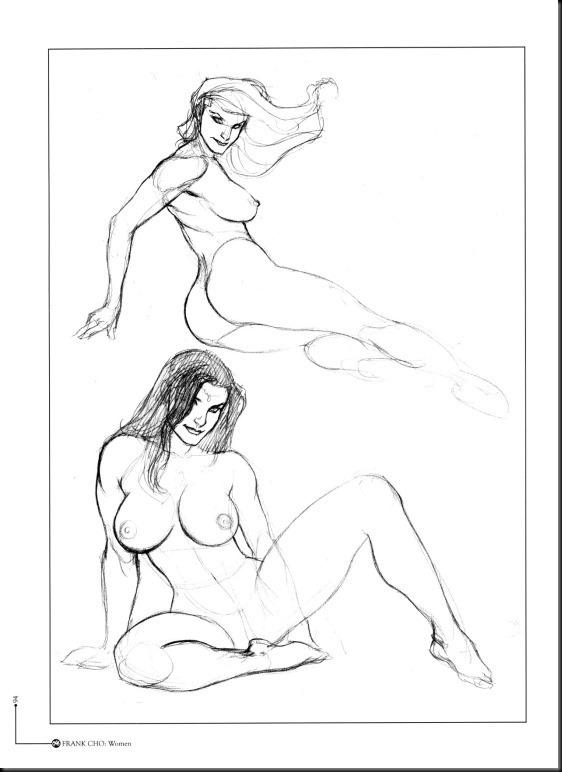 [Frank Cho] Women - Selected Drawings and Illustrations_854057-0095