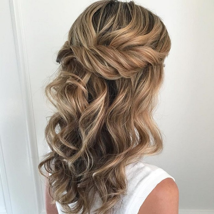 Half Up Half Down Hairstyles For Woman In 2018 2