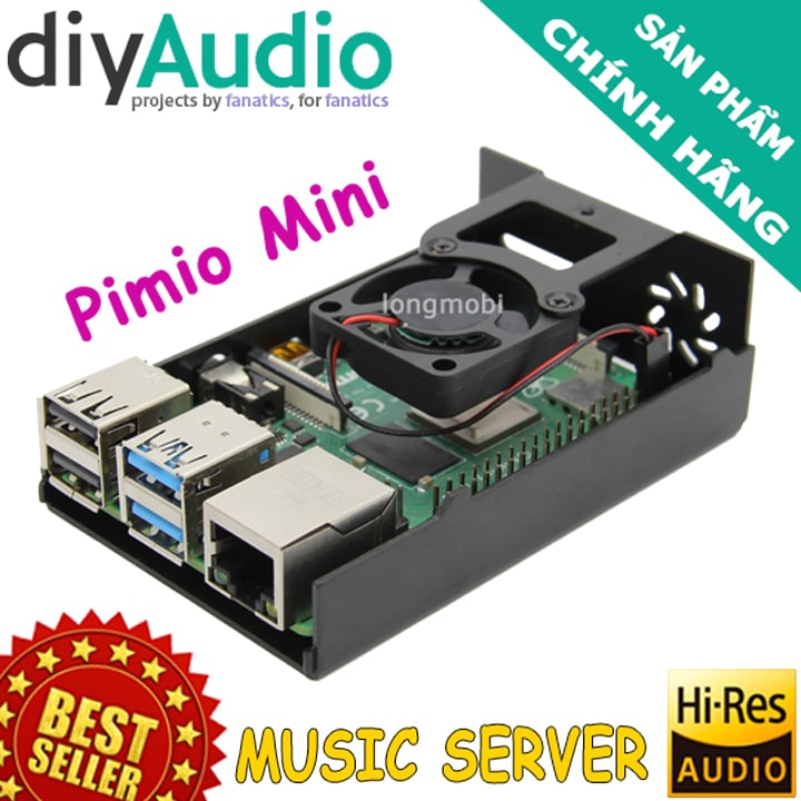music server pimio mini