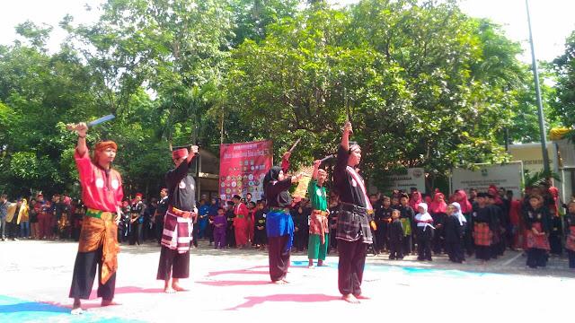 1500 pesilat Muda Bekasi gelar Upacara Sumpah pemuda