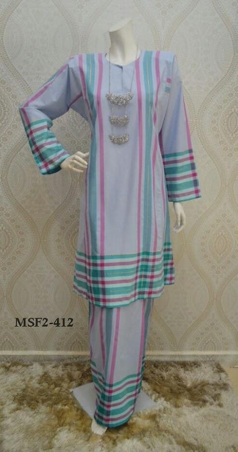 Baju Kurung Pahang Mas Ayu Songket