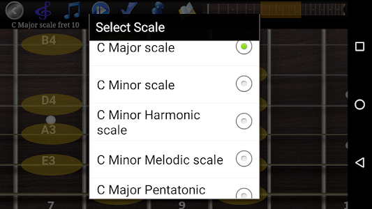 Guitar Scales & Chords Pro v79 Enhanced UI