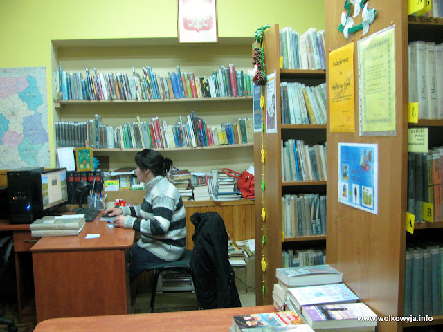 Biblioteka w Wołkowyi