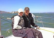 J/105 champions- N Breault and B Stone on Arbitrage- San Francisco Bay