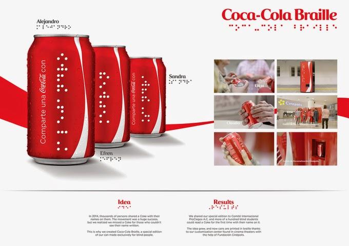 Coca-Cola Braille
