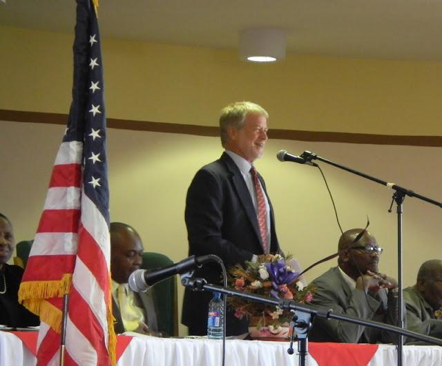 US Ambassador to Botswana Nolan speaks