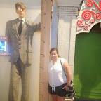 Réplica de la persona más alta del mundo