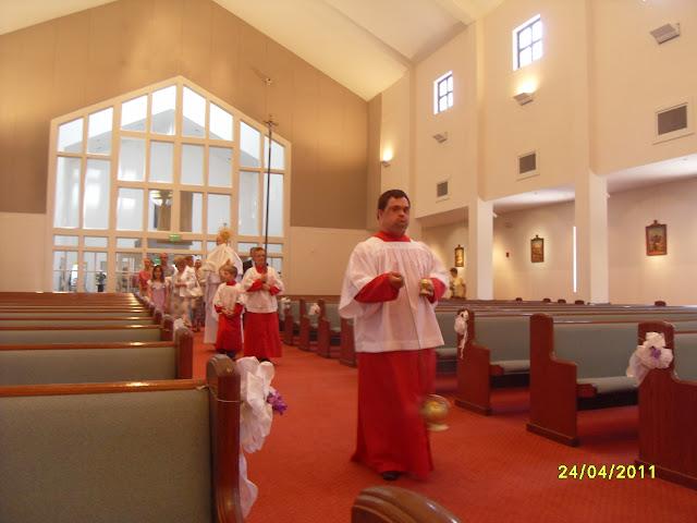 4.24.2011. Msza Wielkanocna z procesją. Zdjęcia B. Kołodyński i E. Gürtler-Krawczyńska. - SDC12520.JPG