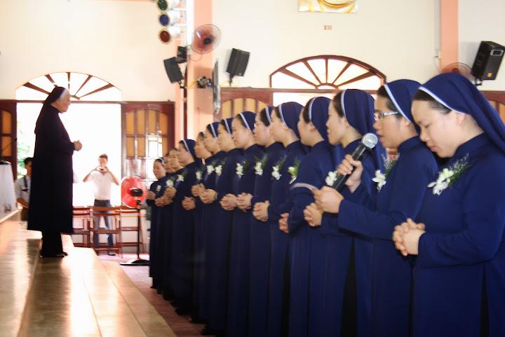 Lễ Vĩnh Khấn và Kim Khánh tại Dòng Khiết Tâm Đức Mẹ Nha Trang (22/08/2013)