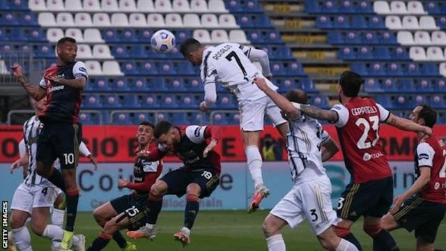 Cagliari 1 – 3 Juventus (Watch Here)