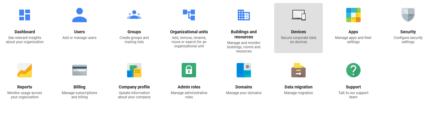 Google Admin Device Management