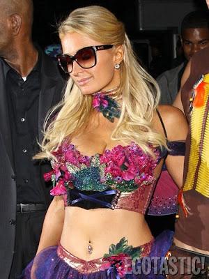 Paris Hilton Halloween dresse